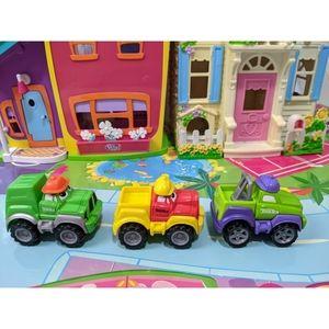 3 Tonka Maisto Hasbro Diecast Mini Trucks 2000